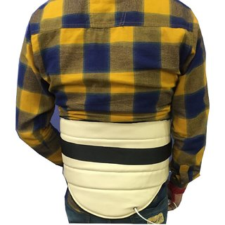 Krien care Electric Lumbar support back heating belt WHO-GMP Certied