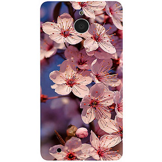 Casotec Pink Flowers Pattern Design 3D Printed Hard Back Case Cover for Microsoft Lumia 850