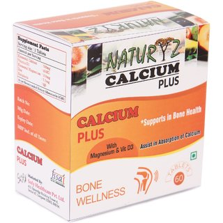 Naturyz Calcium Plus Formula 60 Tablets