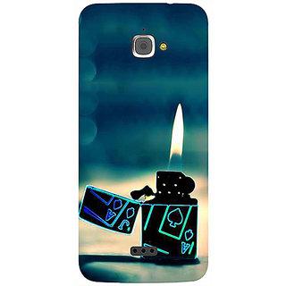 Casotec Cigrate Lighter Design 3D Printed Hard Back Case Cover for InFocus M350