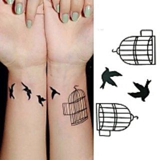 FREE BIRD TEMPORARY TATOO 1PC