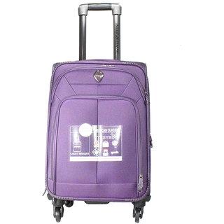 American Classic 28 Inch 4 Wheel Trolley Bag Purple