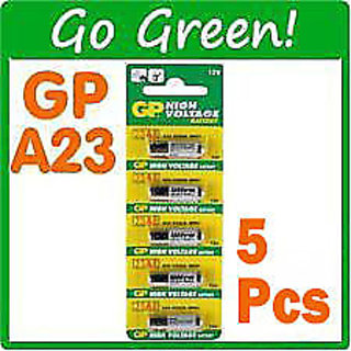 5 Pieces 23AE GP ULTRA 12V Original Alkaline Battery BUY 3 GET 1 FREE (3+1)