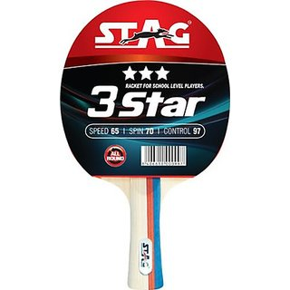 Stag 3 Star Table Tennis Bat