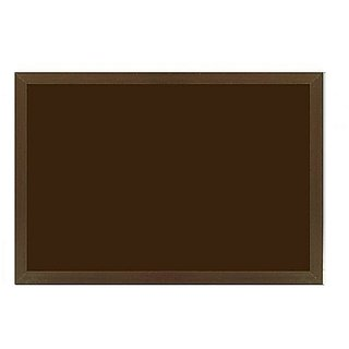 Kanico 1.5 x 2 feet Wooden Framed Brown Notice Board - WFFCNB0051824