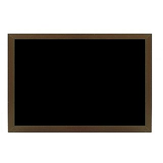 Kanico 1.5 x 2 feet Wooden Framed Black Notice Board - WFFCNB0071824