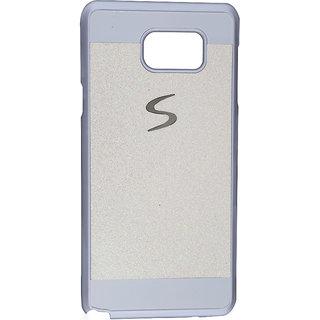 Samsung Galaxy Note 5 White Glitter Back Cover