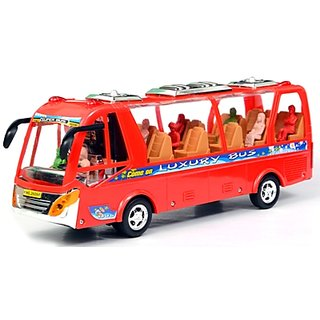 Battery Operated Bus With Light