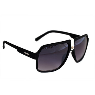 Sunglasses In Wayfarer Style In Mat Finish In Premium Style In White Touch