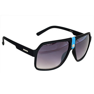Sunglasses Wayfarer In Mat Finish In Premium Style In Blue Touch