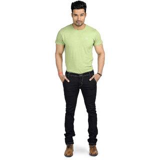 myshka men black jeans