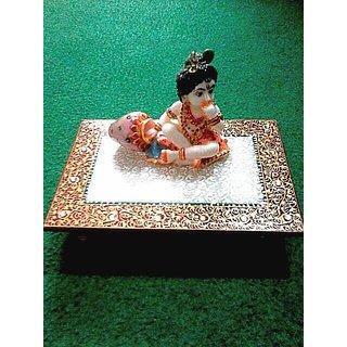 Handmade Marble Laddu Gopal
