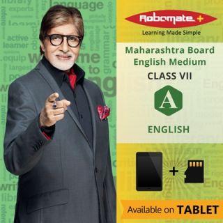 Robomate+ Maharashtra BoardEngViiEnglish (Tablet)