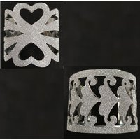 Designer Cut work Wedding/Engagement wear Cuff Bracelets for girls/women by GoldNera