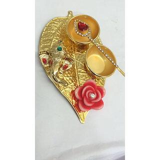 Decorative Diyas And Ganesh Idol