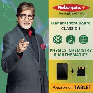 Robomate+ Maharashtra BoardSciXiiCetPcm (Tablet)
