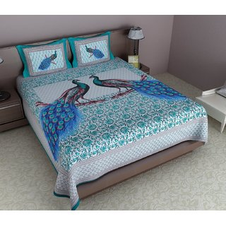 Reliable Trends Cotton Animal Queen sized Double Bedsheet