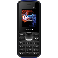 Zen Mobile X47 Fire - Black+Red