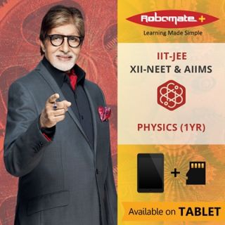 Robomate+ National BoardXiiNeetandaiimsPhysics(1Yr) (Tablet)