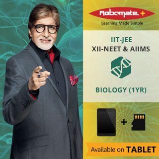 Robomate+ National Board XiiNeetandaiimsBiology(1Yr) (Tablet)