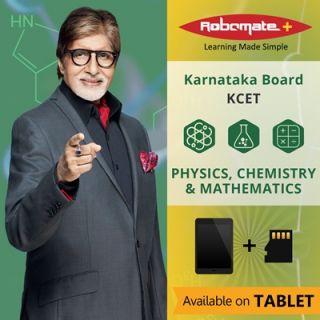 Robomate+ Karnataka BoardSciKcetPcm (Tablet)