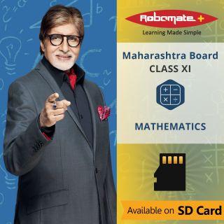 Robomate+ Maharashtra Board-Sci-Xi-Mathematics