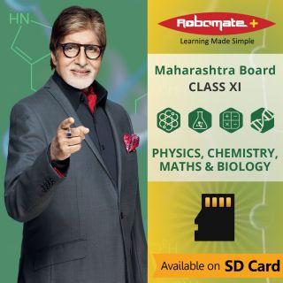Robomate+ Maharashtra Board-Sci-Xi-Pcmb