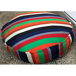 round pillow dog bed