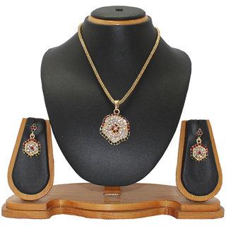 Soni Art Jewellery flower shaped jewellery pendant (0021)