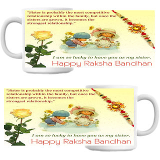 Strongest Relationship Rakshabandhan Coffee Mug