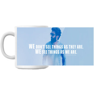 See Things As We Are Coffee Mug