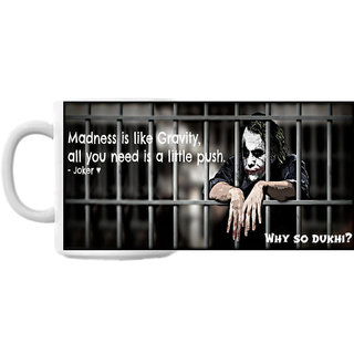 Why So Dukhi Joker Coffee Mug