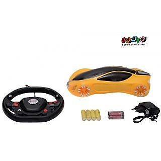 Rc Bounce Rollover Stunt Car With Steering Wheel Control Function