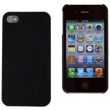 Black Ultra Thin Rubberized Matte Hard Case Cover For Apple Iphone 4s En 2