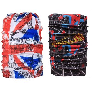 Sushito Stylish Multi Use Winter Bandanas JSMFHMA0845-JSMFHMA0562
