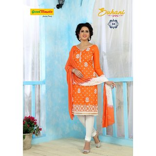 Pure Thick Cotton Dress Material
