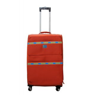 GRAND POLIZ -8214 LUGGAGE ORANGE 20 , 24 , 28 Total Bag Set