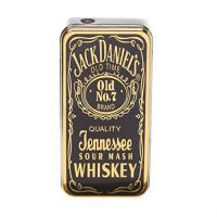 Jack Daniels Style Black-Gold Premium Quality Stylish Refillable Cigarette Lighter