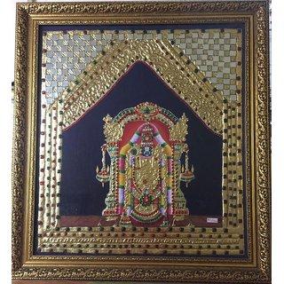 Tanjore Painting of Tirupati Balaji