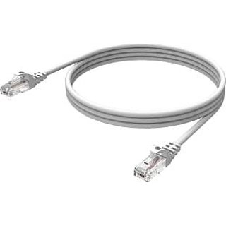 99Gems RJ45 Type connector, 3 mtr LAN Cable(Off White)