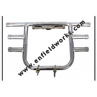 3 ROD-PLAIN CHROME ENFIELD BULLET CRASH/SAFETY GUARD