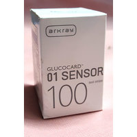 Glucocard 01 Sensor 100 Test Strips for Glucocard Arkray Meters