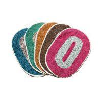 Rohilla Cotton Door Mats (12 X 18 Inches) Multicolour Set Of 4