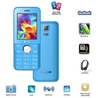 Ssky S241 Music Dual Sim GSM With Big Battery, Facebook Multimedia Camera Mobile Phone