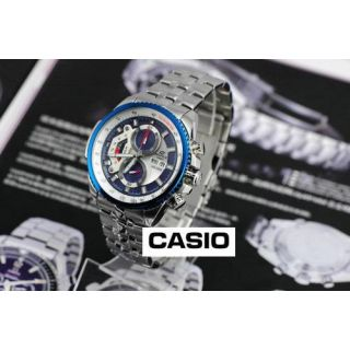 Casio Edifice EF 558 Blue Dial.