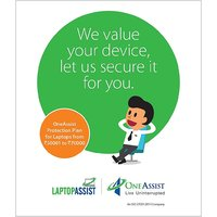 OneAssist Protection Plan for Laptops from Rs 90001 to Rs 120000