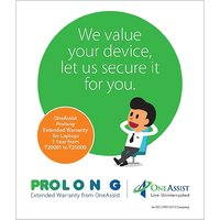 OneAssist-Prolong Extended Warranty for Laptops 2 Year from Rs 20001 to Rs 25000