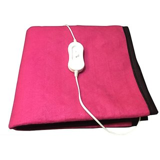 KRIEN CARE Electric Blanket Single Bed MAKE IN INDIA (75X150 CMS)