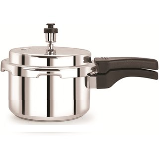 Pelikan 3 ltr Hard Anodized Aluminium Pressure Cooker