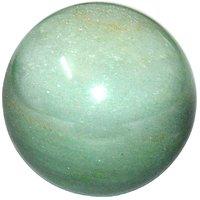 Satyamani Natural Green Aventurine Gemstone Ball For Reiki Chakra Vasstu And Space Healing